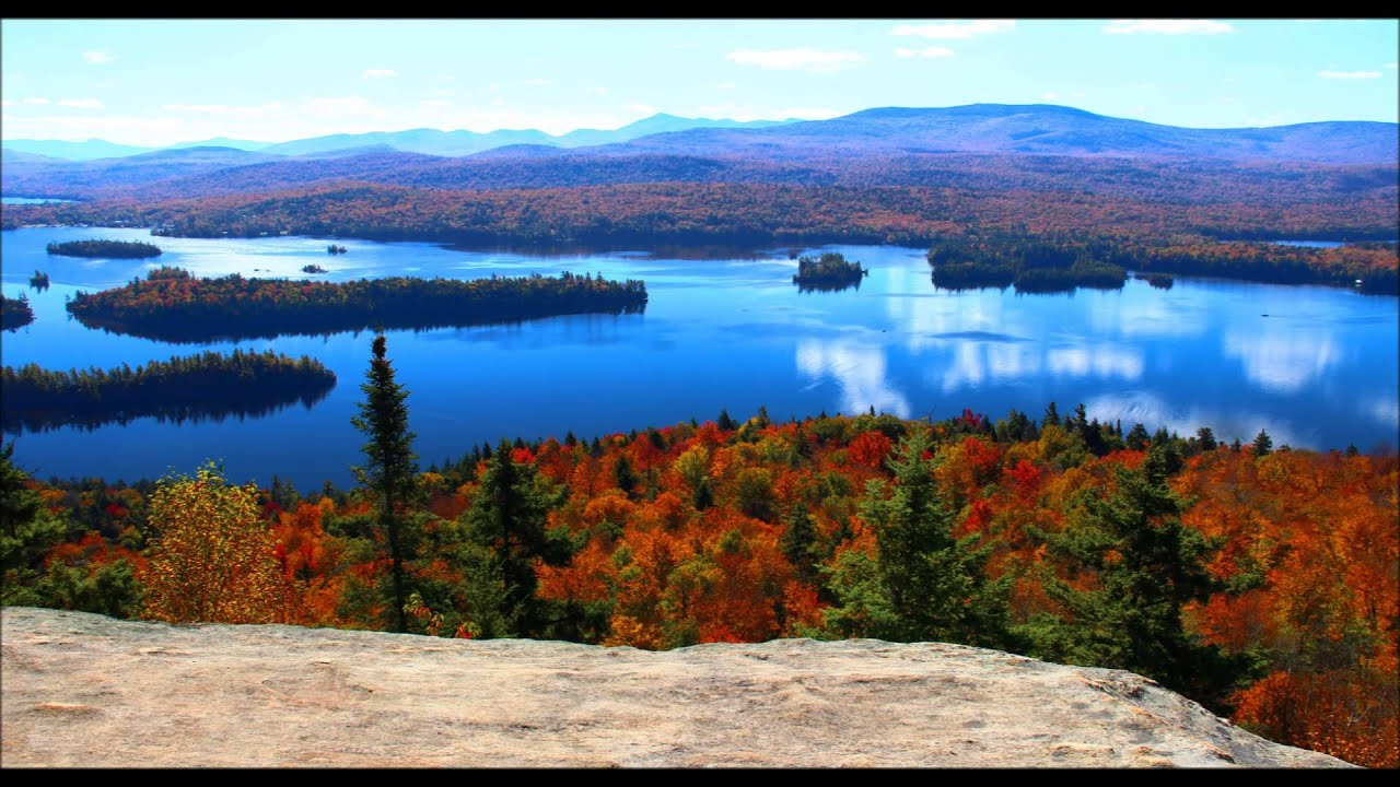 Free Fall Foliage Wallpaper Fall In The Adirondack Forest Preserve Youtube