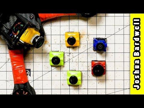 FPV CAMERA FIELD TEST | Caddx SDR1, F1, S1 / Runcam Micro Eagle / Foxeer Micro Predator