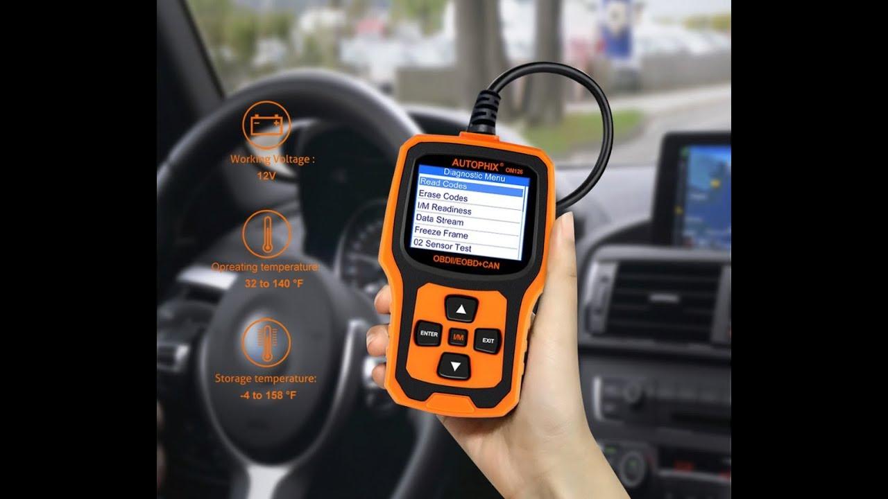 Vehicle Code Reader >> Car Autophix Om126 Obd2 Obdii Vehicle Obd Automotive Scanner Fault