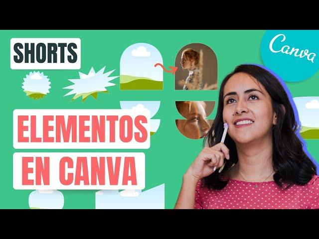 GRATIS: ELEMENTOS ESCONDIDOS EN CANVA # 2 | Shorts Diana Muñoz