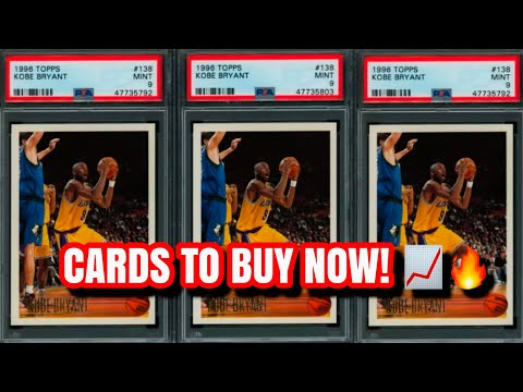 Sports Cards to Invest in NOW During the Dip! (Big Profits)