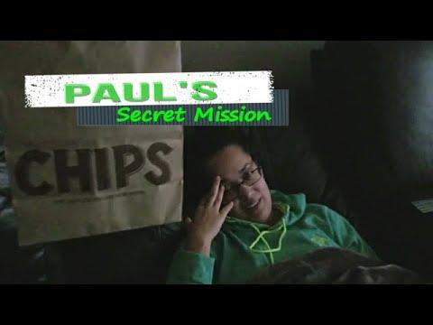 Paul's 😈Secret Mission😂. 10/17/2017
