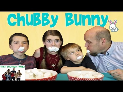 Chubby Bunny Challenge / That YouTub3 Family