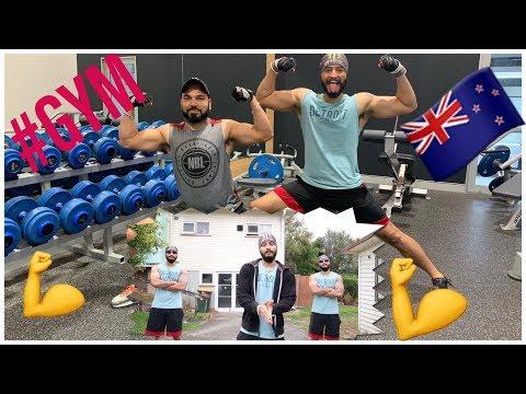 Punjabi Chest Day Workout💪 ! Gym ! Fitness ! Auckland Newzealand🇳🇿🇳🇿 ! VLOG-7 !