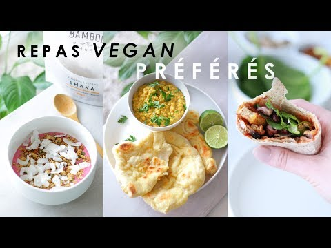 WHAT I EAT IN JUNE   mes repas vegan préférés du moment