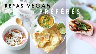 WHAT I EAT IN JUNE | mes repas vegan préférés du moment