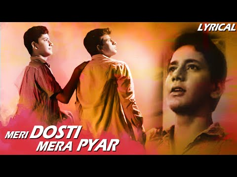 Meri Dosti Mera Pyar Full Song With Lyrics | Dosti | Mohammad Rafi Hit Songs