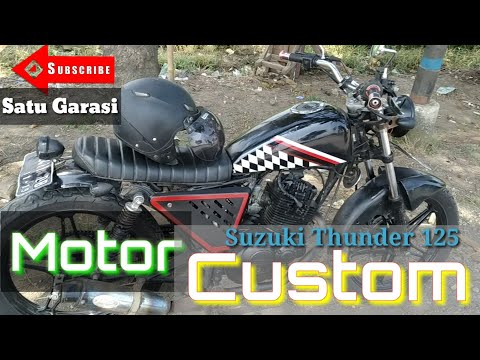 motor-custom-japstyle-basic-thunder-125-taun-2004-|-#-review-vlog-8