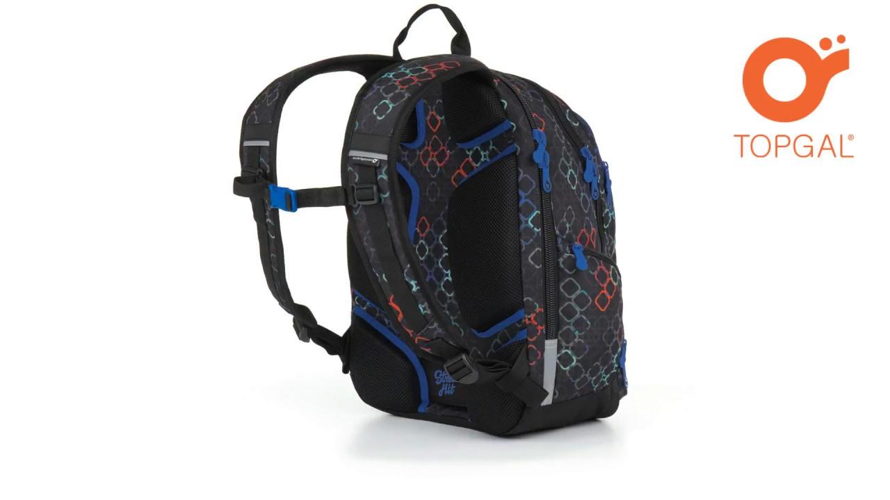 f10a7be705 Študentský batoh HIT 887 A - Black