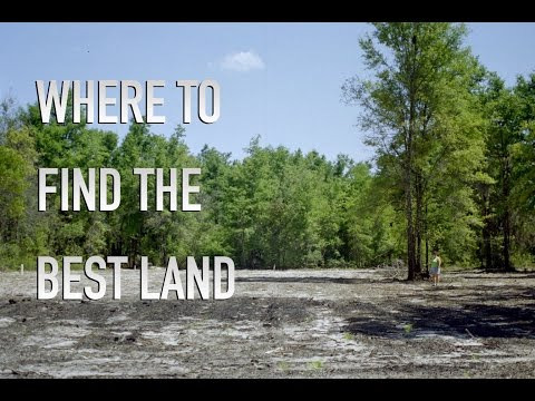 Where To Find The Best Land