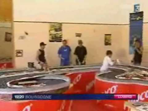 REPORTAGE FR3-SLOT RACING SYSTEME