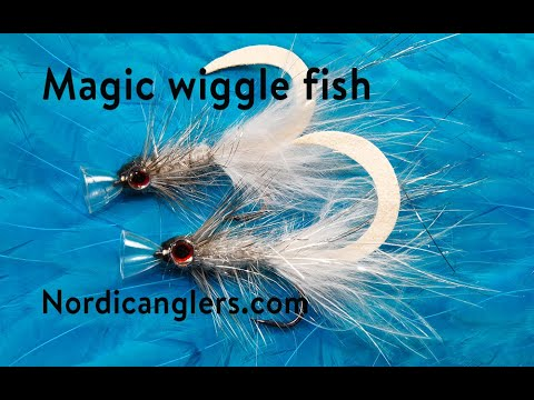 Trout Fly Tying Lesson, Step By Step, How To Tie The:: The Magic Wiggle Jiggin Smelt