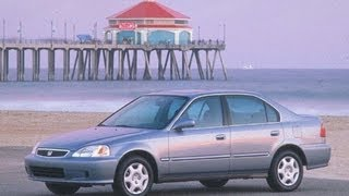 1999 Honda Civic Start Up and Review 1.6 L 4-Cylinder