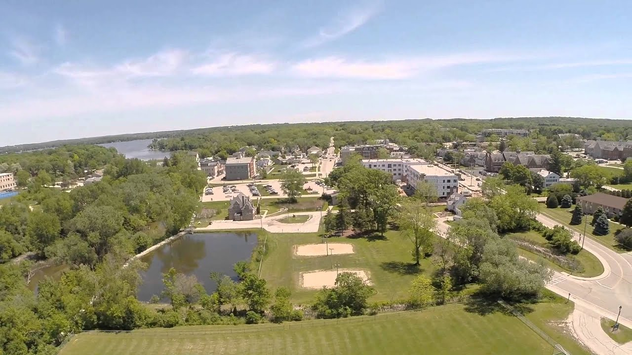 Gopro delafield wi fish hatchery aerial footage youtube for Wisconsin fish farms