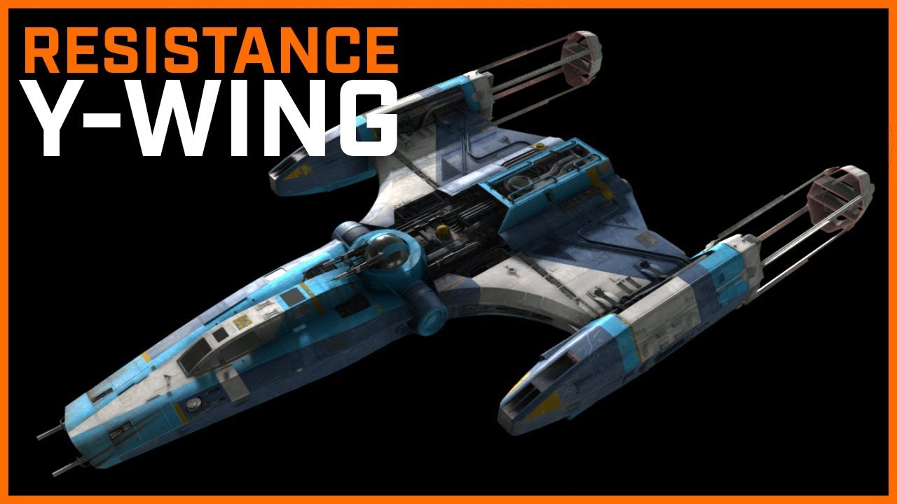 Resistance Y Wing Design Fan Made Youtube