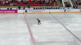 Алина Загитова новая короткая программа Me Voy Контрольные прокаты сборной России 2019 2020