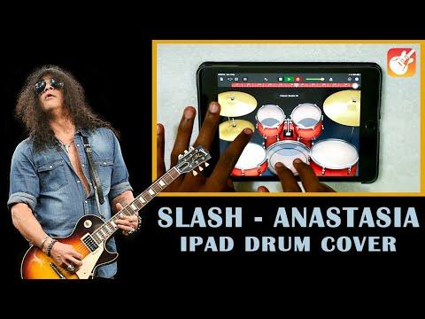 Slash – Anastasia (Ipad Drum Cover) On GarageBand – By Vijay Yadavar.