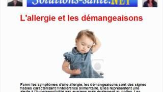 GRATUIT: Soigner l allergie et les demangeaisons rapidement