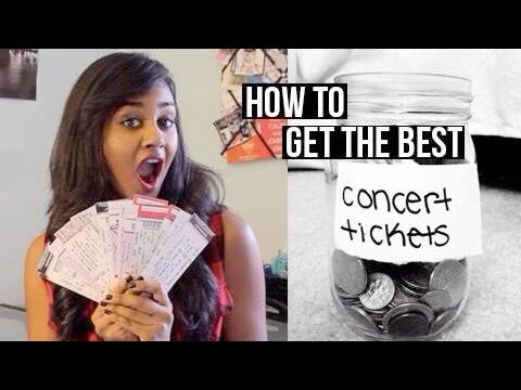 How To Get The BEST Concert Tickets