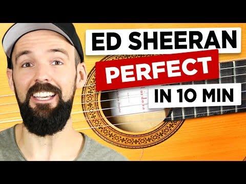 Gitarre Lernen - Ed Sheeran - Perfect - EINFACH & Auf Deutsch