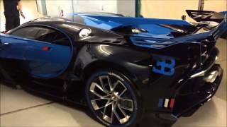 Real Bugatti vision Gran Turismo sound!!!