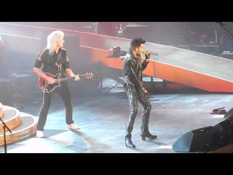 Queen + Adam Lambert - Another One Bites The Dust - Tauron Arena Krakow 02/21/2015