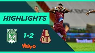 Nacional vs. Tolima (Goles y Highlights)   Liga BetPlay Dimayor 2020   Fecha 9