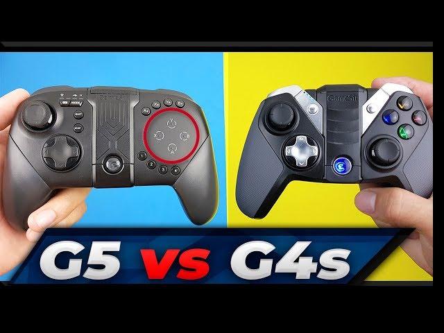 GameSir G5 vs GameSir G4s - COMPARATIVO dos MELHORES GAMEPADS da ATUALIDADE! (PT-BR)