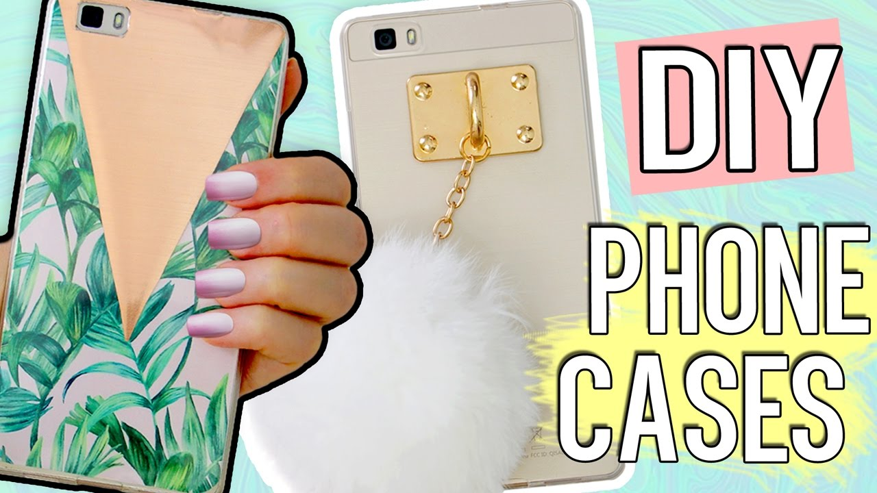 sports shoes 1fc6b 69742 5+1 DIY PHONE CASE ideas! Using ONE case! Holo, Harry Potter, Tumblr & more!