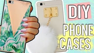 5+1 DIY PHONE CASE ideas! Using ONE case! Holo, Harry Potter, Tumblr & more!