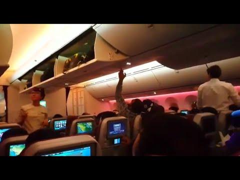 الخطوط الجوية القطرية/ داخل الطائرة Qatar Airways in aircraft