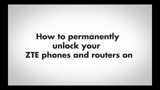 Unlock zte mf65m locked to local or global isp pocket wifi
