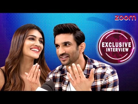 Thumbnail: Sushant Singh Rajput & Kriti Sanon Exclusive Interview - zoom