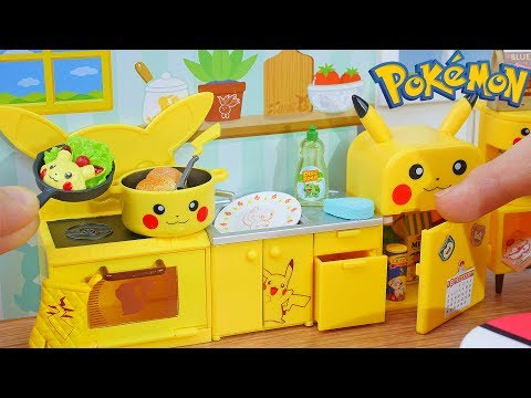 Re-Ment Miniature Pikachu Kitchen
