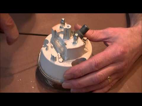 how-to-open-a-speedometer,-dismantling-the-speedo-and-removing-the-glass,-instrument-restoration