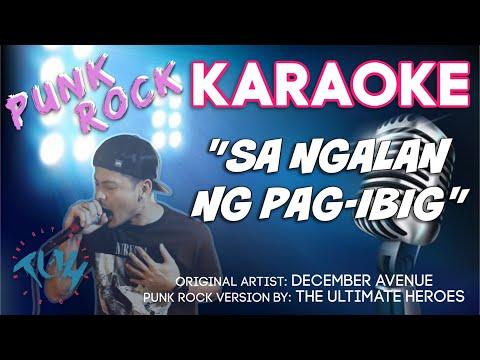 December Avenue - Sa Ngalan Ng Pag-Ibig (Instrumental/KARAOKE) TUH Style