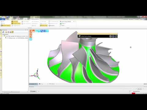 Advanced 5-Axis Cycle | Edgecam 2016 R2