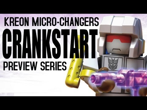 KRE-O Transformers Micro-Changers - Preview Series - Crankstart - MinifigCentral Unpacking Video