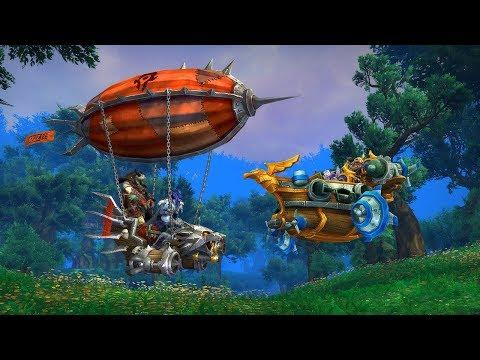 Анонсированы подарки для World of Warcraft за билет на BlizzCon 2017!