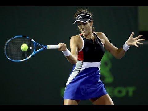 2018 Monterrey Semifinals   Garbiñe Muguruza vs. Ana Bogdan