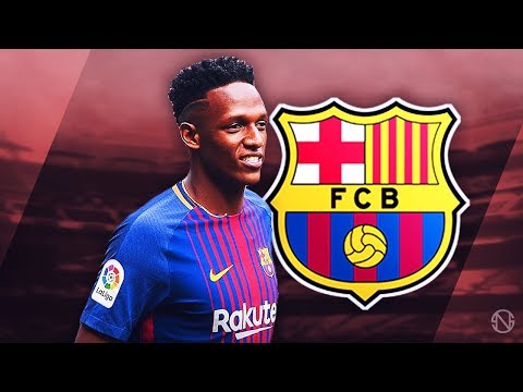 YERRY MINA - Welcome to Barcelona - Insane Defensive Skills, Goals & Assists - 2017/2018 (HD)