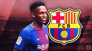 YERRY MINA - Welcome to Barcelona - Insane Defensive Skills, Goals & Assists - 2017/2018 (HD)