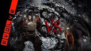 Evolve Бабуля против Древнего Кракена