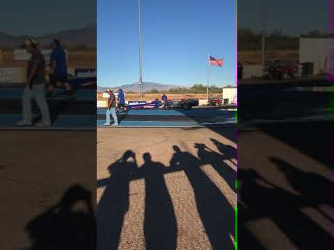 Jetdragster at Tucson dragway
