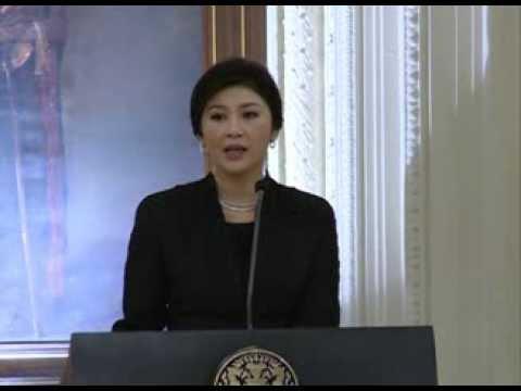 นายสุพจน์ อาวาส ผู้ช่วยผู้อำนวยการธนาคารออมสิน นำ ผู้นำสตรี เข้าเยี่ยมคารวะนายกรัฐมนตรี