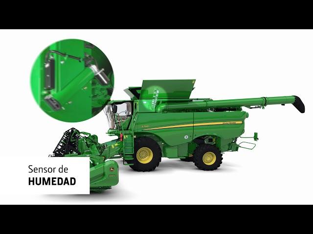 John Deere Serie S700 la cosechadora automatizada 2 – Active Yield medición de producción