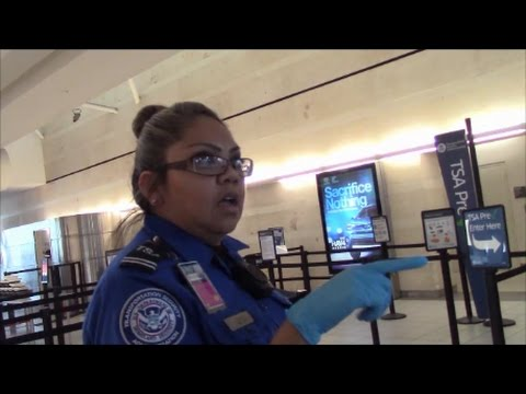 TSA 1st Amendment Audit, Ontario International Airport
