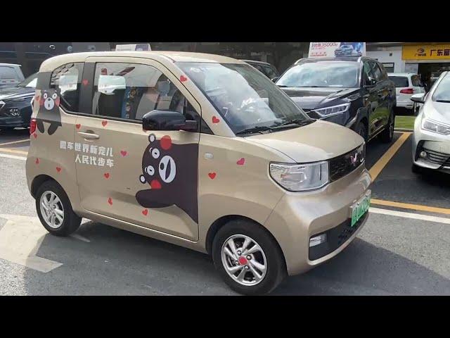 43万円のEV、中国でテスラ超え 五菱製「人民の足」