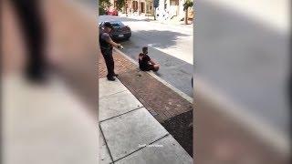 Lancaster PA Police Taser Deployment - Shaun King Screaming Abuse