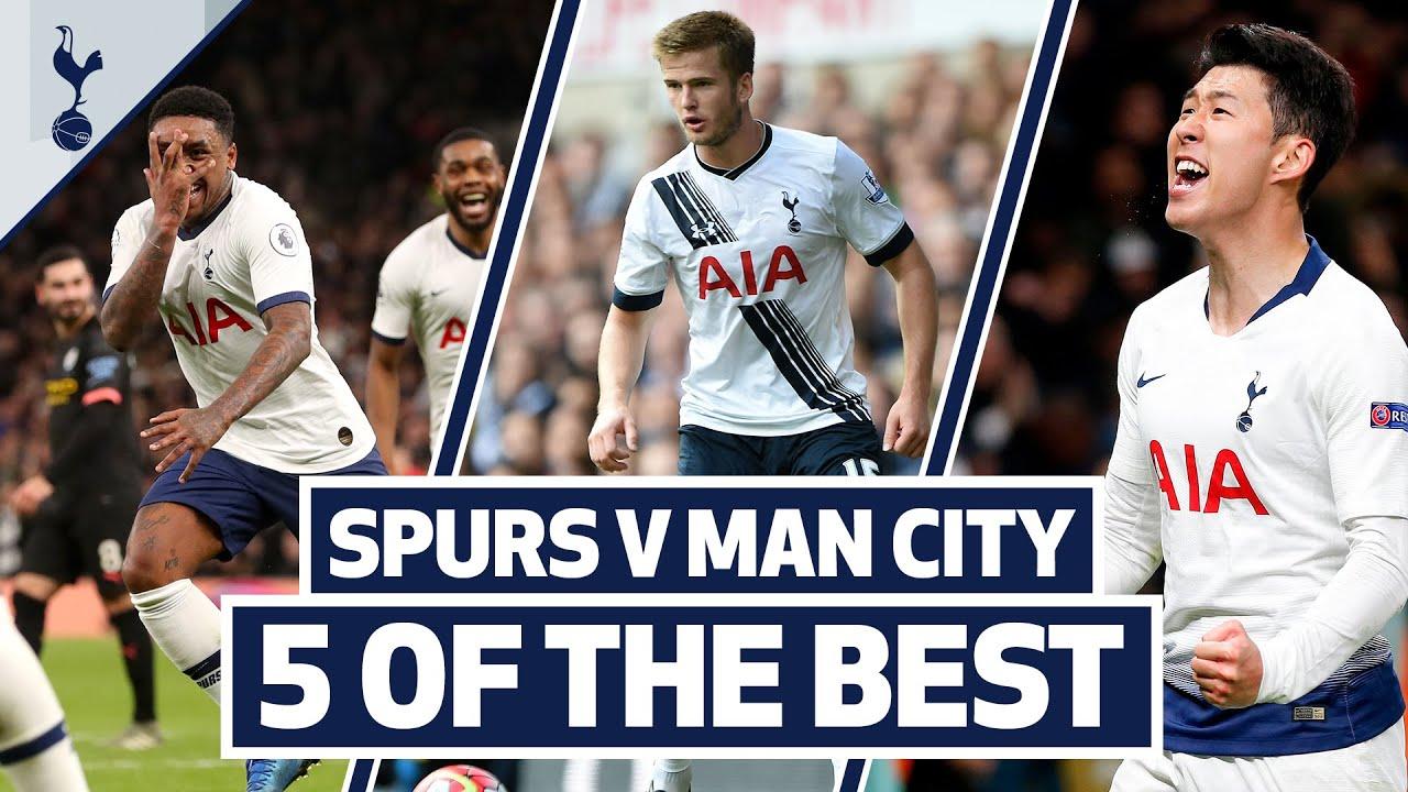 5 OF THE BEST | SPURS BEST HOME GOALS V MAN CITY | Ft. Son, Defoe, Bergwijn, Kranjcar and Dier!